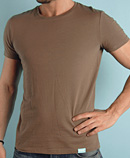 itself T-shirt | Pale Brown Tee