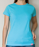 itself T-shirt | Tee Turquoise