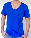 itself T-shirt | Royal Blue Vee