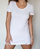 itself T-shirt | White Tunic Tee
