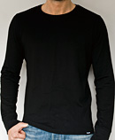 itself T-shirt | Black Long Sleeve Tee