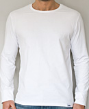 itself T-shirt | Long Sleeve Tee Blanc